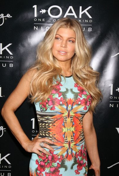 Fergie arrives to celebrate her birthday at 1 OAK Las Vegas at the Mirage Hotel & Casino in Las Vegas