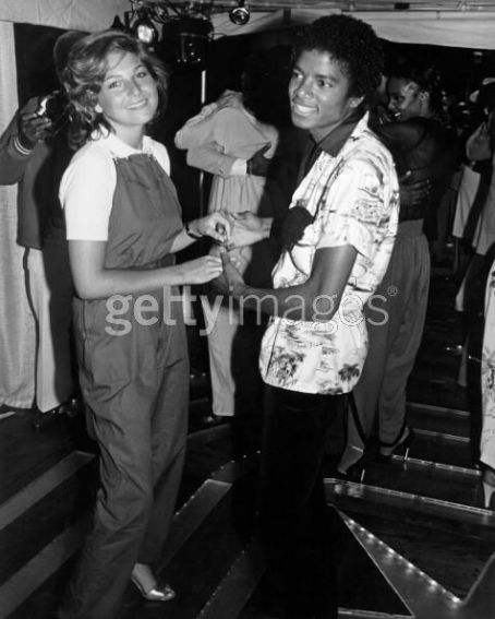 Michael Jackson and Tatum O'Neal