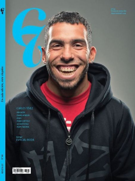 Carlos Tevez - G7 Magazine Cover [Argentina] (October 2011)