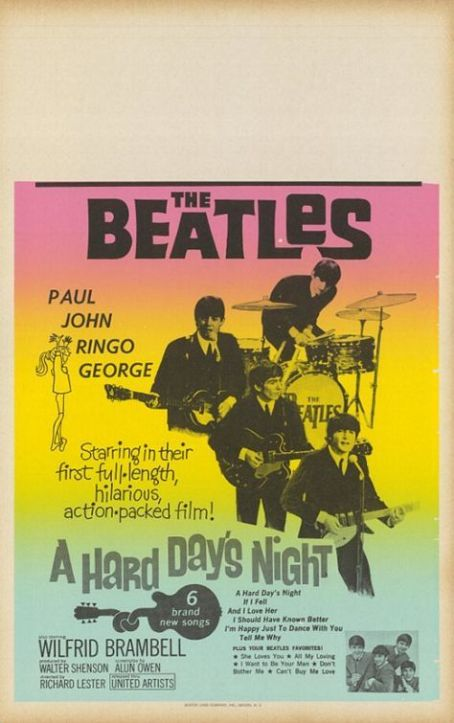 A Hard Day's Night A Hard Day's Night (1964)