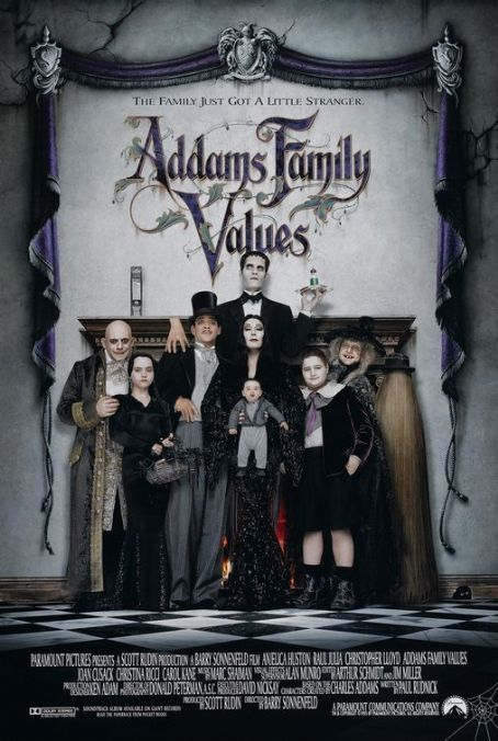 Morticia Addams Addams Family Values (1993)