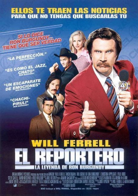 Will Ferrell Anchorman: The Legend of Ron Burgundy (2004)