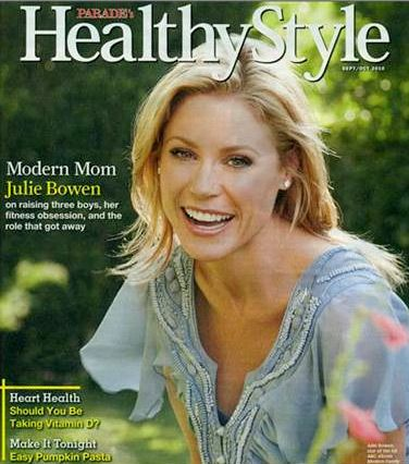 Julie Bowen - Healthy Style Magazine Cover [United States] (October 2010)