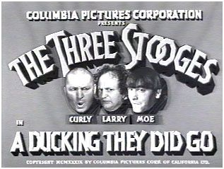 A Ducking They Did Go (1939) Poster