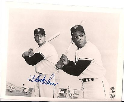 Hank Sauer & Willie Mays