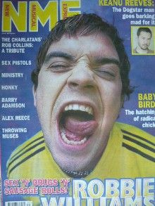 Robbie Williams - New Musical Express Magazine Cover [United Kingdom] (3 August 1996)