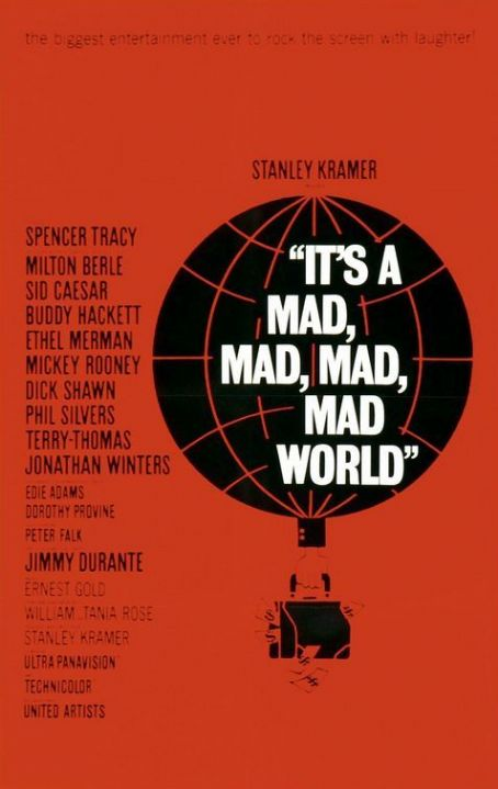 It's a Mad Mad Mad Mad World It's a Mad, Mad, Mad, Mad World (1963)