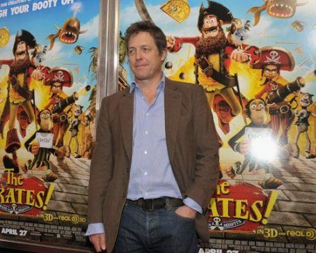 "Hugh Grant Premieres ""The Pirates! Band of Misfits"" in NYC"