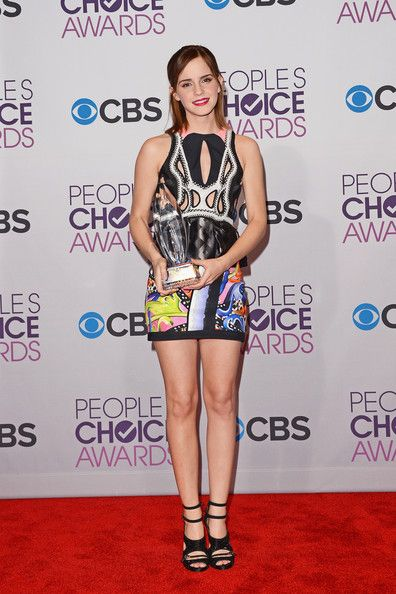 Emma Watson: at the 39th Annual People's Choice Awards at Nokia Theatre L.A. Live