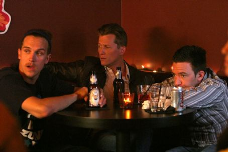 Jason Mewes ('Quebert,' left), Corin Nemec ('Tom,' center) and David Faustino ('Ben,' right) star in Lionsgate Home Entertainment's High Hopes.