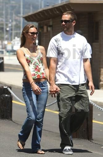 Jasmine Paul Walker and girlfriend  Pilchard-Gosnell Paul Walker out and about in Santa Barbara, Los Angeles, America - 28 May 2011