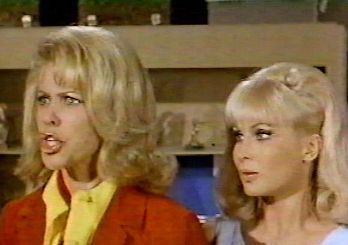 Emmaline Henry With Barbara Eden in Jeannie