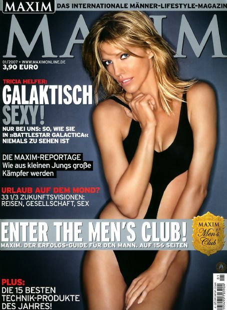 Tricia Helfer - Maxim Magazine [Germany] (January 2007)
