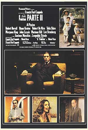 The Godfather: Part II The Godfather part II (1974)