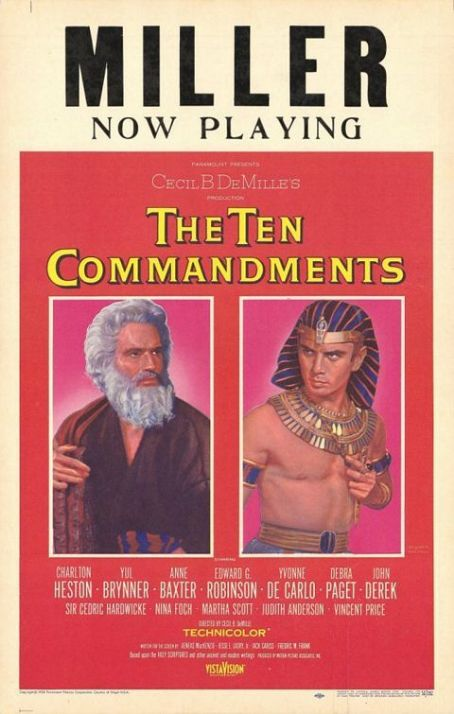 The Ten Commandments  (1956)