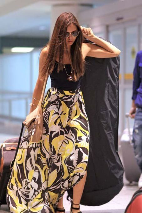 Nina Dobrev arriving in Canada for the Toronto International Film Festival (September 7)