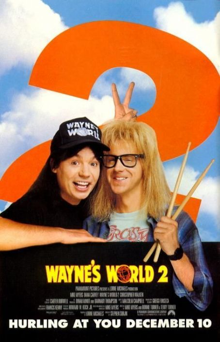 Mike Myers Wayne's World 2 (1993)