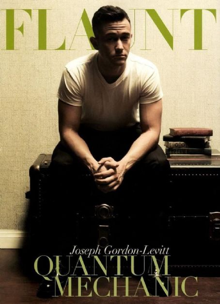 Joseph Gordon-Levitt - Flaunt Magazine Cover [United States] (October 2012)