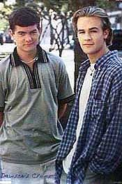 Dawson's Creek Joshua Jackson And James Van Der Beek In Dawson's Creek (1998)