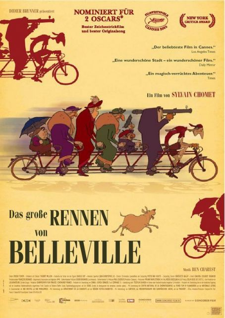The Triplets of Belleville  (2003)