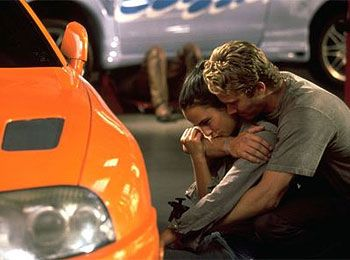 Paul Walker and Jordana Brewster