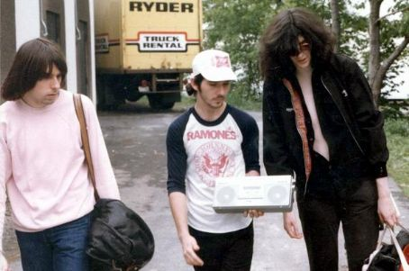 Johnny Ramone Johnny and Joey in 1980