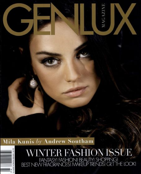 Mila Kunis - Genlux Magazine Cover [United States] (December 2009)