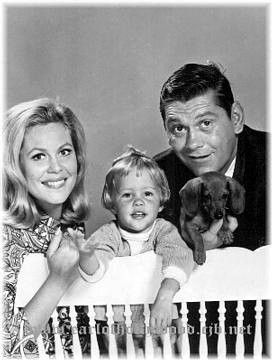Erin Murphy , Dick York and Elizabeth Montgomery