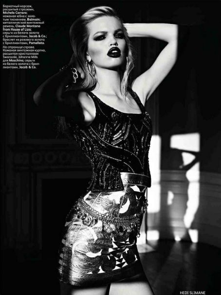 Daphne Groeneveld Vogue Russia April 2012