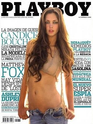 Candice Boucher - Playboy Magazine [Spain] (May 2010)