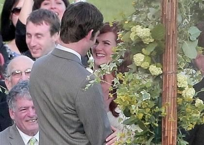 Sara Rue's Wedding Day Pictures