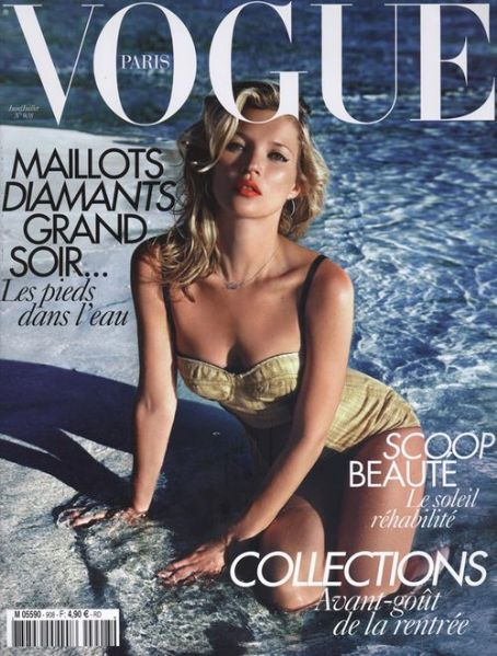 Kate Moss - Vogue Magazine [France] (July 2010)