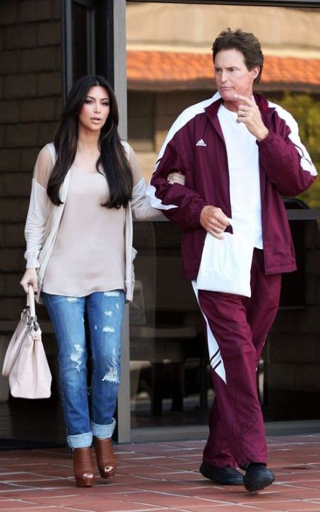 Bruce Jenner - Kim Kardashian's Day Out with Daddy