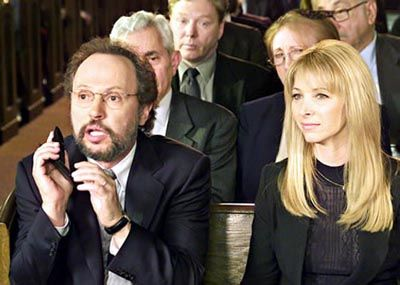 Billy Crystal  and Lisa Kudrow