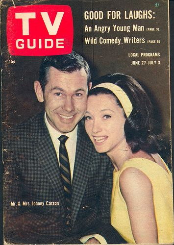 Johnny Carson  and Joanne Copeland