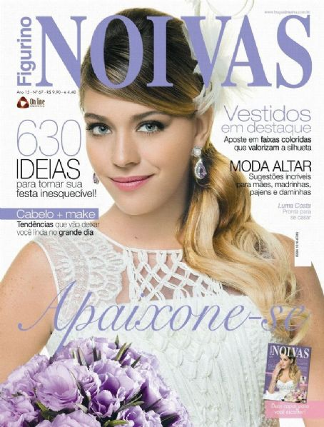 Luma Costa - Figurino Noivas Magazine Cover [Brazil] (November 2011)