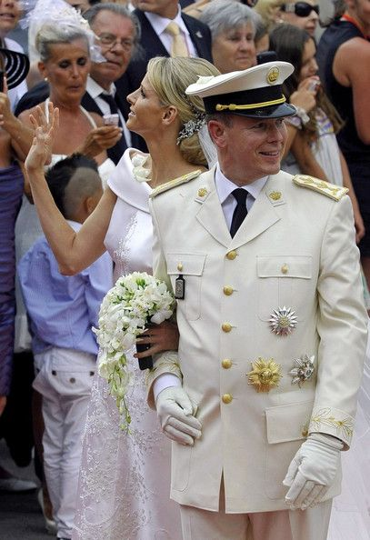 Princess Charlene of Monaco - Prince Albert and Charlene Wittstock Get Married