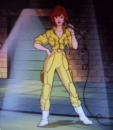 April O'Neil Teenage Mutant Ninja Turtles (1987)