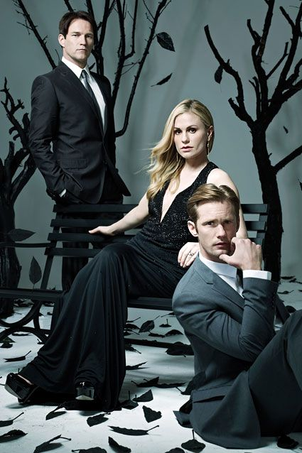 Anna Paquin, Stephen Moyer and Alexander Skarsgard Photoshoot ´s TV Guide(Jun, 2012)
