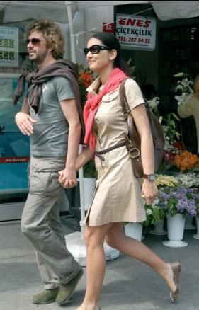 Bergüzar Korel Tan Sagturk and Bergüzar Korel