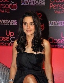 Preity Zinta At The Launch Of 'Up Close And Personal With PZ' Show