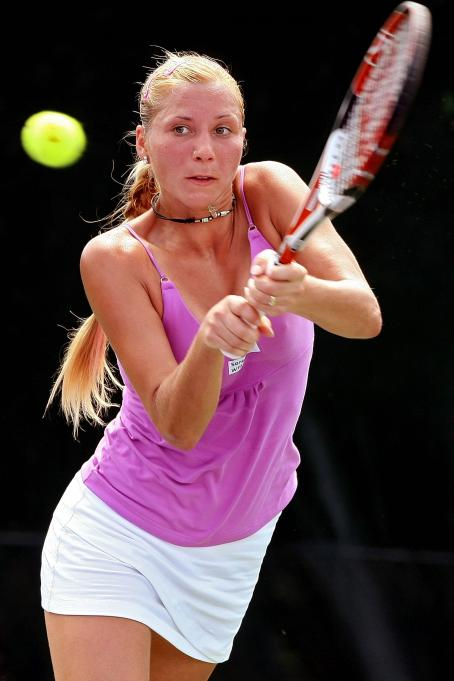 Alona Bondarenko  - Sony Ericsson Open - Day 5 2008-03-28