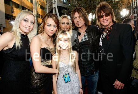 Tish Cyrus Richie Sambora, , Miley Syrus and Billy Ray Cyrus
