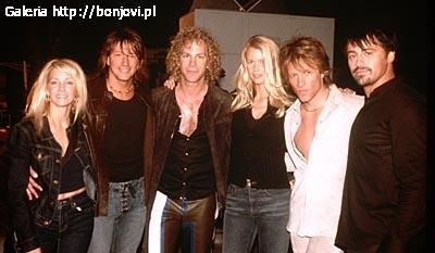 David Bryan Richie Sambora and Heather Locklear,Matt Leblanc, Claudia Schiffer, Jon Bon Jovi,