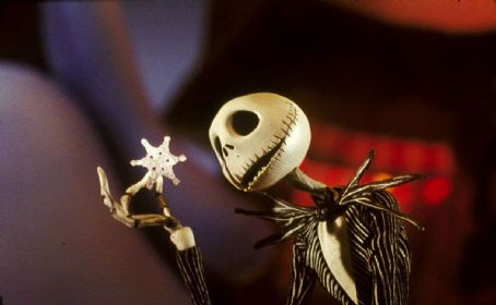 Chris Sarandon Jack Skellington (voiced by ) in Tim Burton's THE NIGHTMARE BEFORE CHRISTMAS in Disney Digital 3-D
