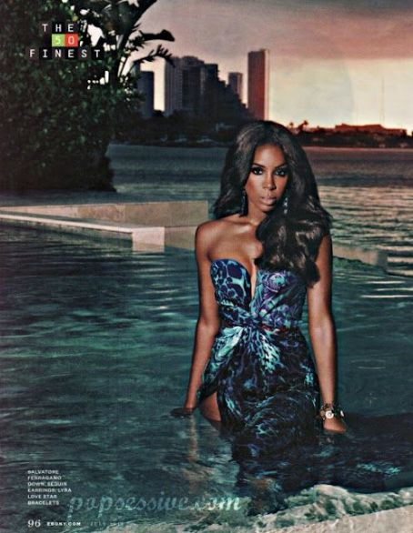 Kelly Rowland - Ebony Magazine Pictorial [United States] (July 2012)