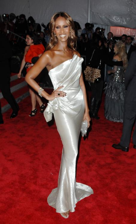 "Iman - ""The Model As Muse: Embodying Fashion"" Costume Institute Gala - May 4 2009"