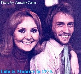 Lulu  and Maurice Gibb