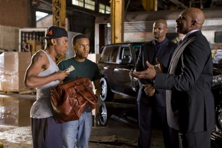 Benny (L-r) BRANDON T. JACKSON as , BOW WOW as Kevin Carson, TERRY CREWS as Jimmy the Driver and KEITH DAVID as Sweet Tee in Alcon Entertainment's and Warner Bros. Pictures' comedy 'The Lottery Ticket,' distributed by Warner Bros. Pictures.