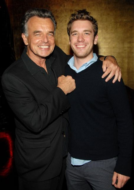 Ray Wise and Bret Harrison